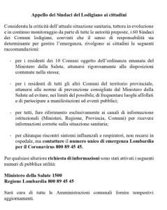 appello-sindaci-del-lodigiano